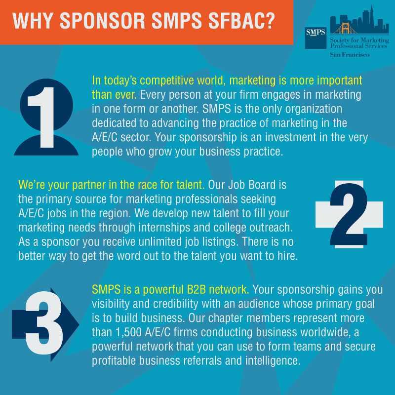 SFBAC Sponsor Benefits Graphic